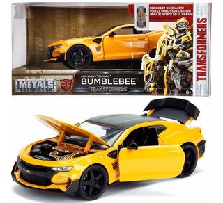 Chevy Camaro 2016 Bumblebee Transformers 1:24 Nuevo