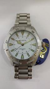 Relógio Original Atlantis Estilo Skydiver Prata Frete Gratis