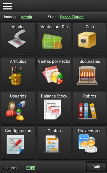 Sistema De Ventas, Punto De Ventas, Stock, Pos Android Demo