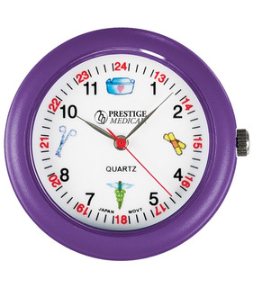 Relógio De Estetoscópio - Roxo