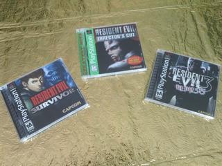 Resident Evil Colección 3 Juegos Survivor, Direc Cut Nemesis