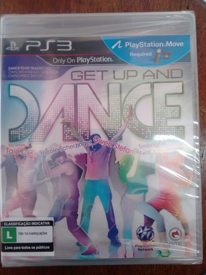 Jogo Ps3 Get Up And Dance