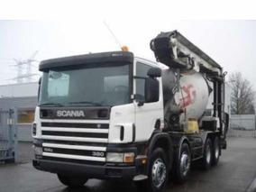 Camion Hormigonero Scania 8x4