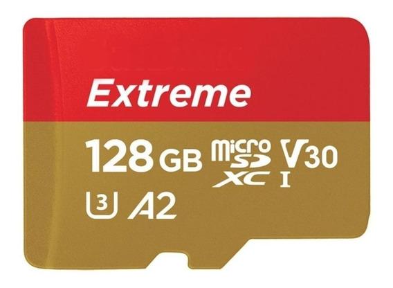 Cartão de memória SanDisk SDSQXA1-128G-AN6MA Extreme com adaptador SD 128GB