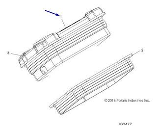 Painel De Intrumentos - Velocimetro Polaris Pn# 3280800