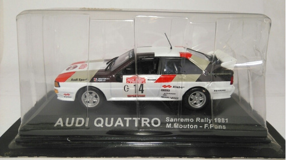 Audi Quattro 1:43 Rally 1981 Altaya Milouhobbies A2455
