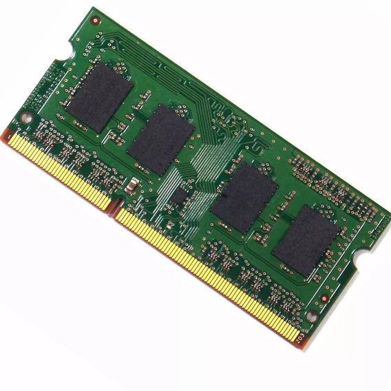 Memória Notebook 4gb Ddr3 1333mhz Pc3 10600 Cl9
