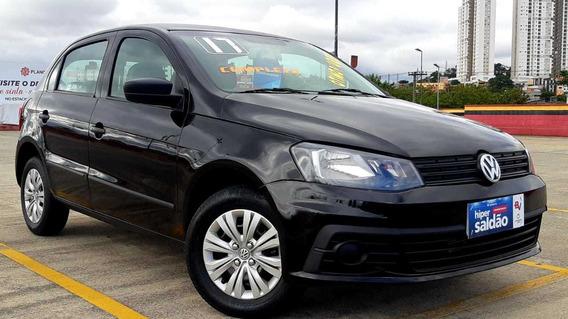Volkswagen Novo Gol 1.0trendline Completo Zero Entrada