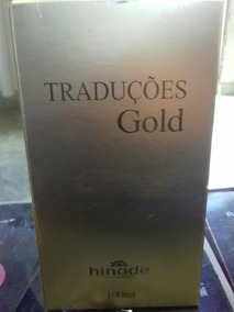 Traduções Gold,hinode 100ml N1