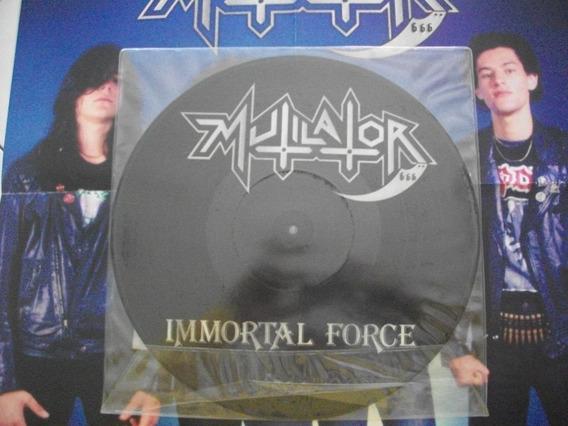 Lp - Picture - Mutilator - Immortal Force