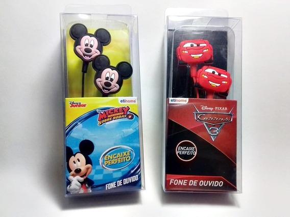 Fone De Ouvido Emborrachado Disney