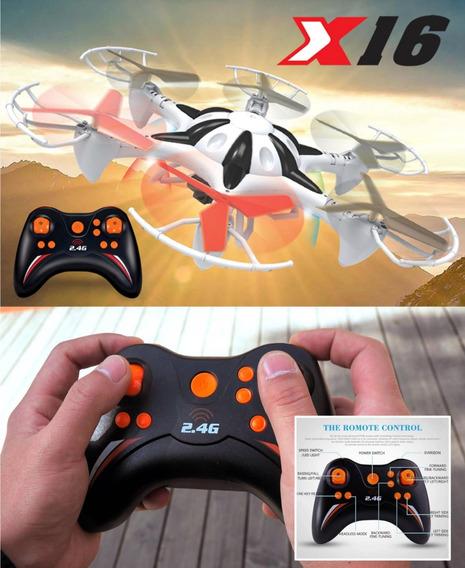 Drones X16 Space Xplorer 4 Canales Rango 100 Pies Camara R5