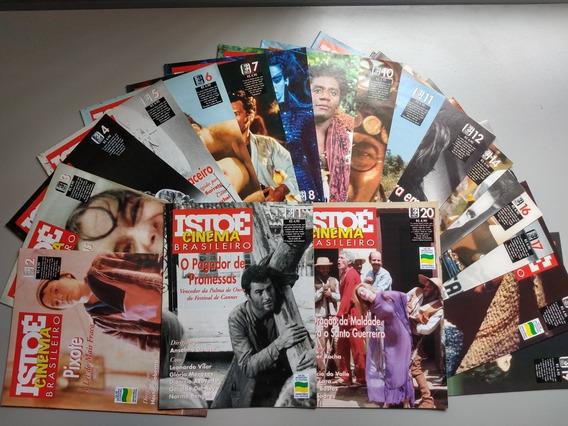 Coleção Completa Revista Istoé Cinema Brasileiro Do 1 Ao 20