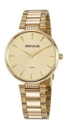 Relógio De Pulso Feminino Seculus Cód. 77027lpsvds1