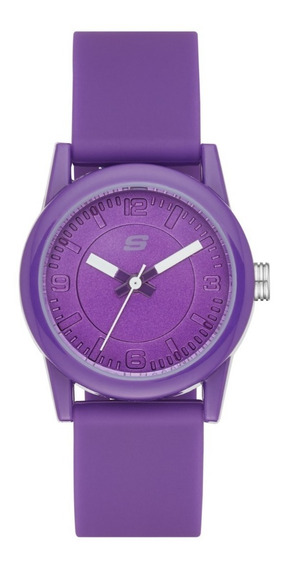 Reloj Dama Skechers Rosencrans Mini Sr6034 Color Morado
