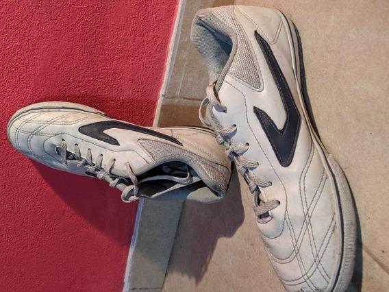 Zapatillas Topper Dominator 3 Blancas N° 43/44 Muy Poco Uso
