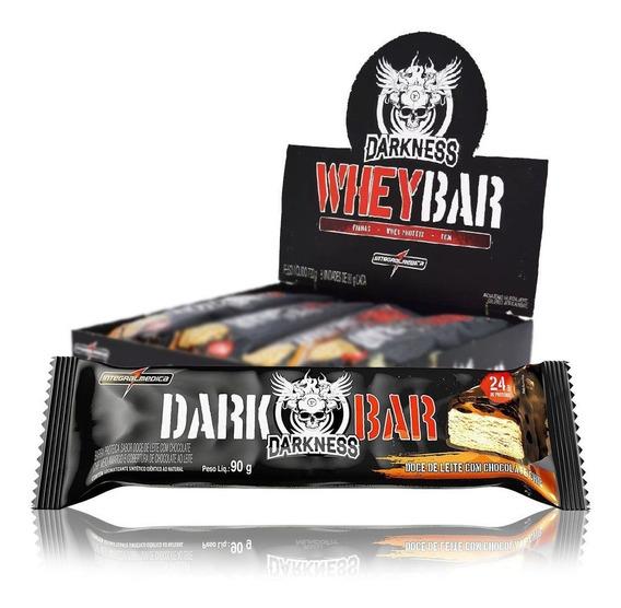 Whey Bar Darkness Caixa C/ 8 Barras - Sabores