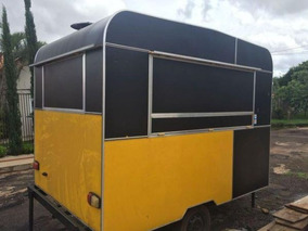 Food Truck Completo Trailher Completo Para Alimentação