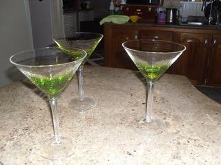 Juego Copas Martini