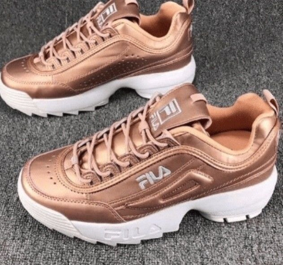 Zapatos Fila Disruptor 2 Ray Sawtooth Rose Gold