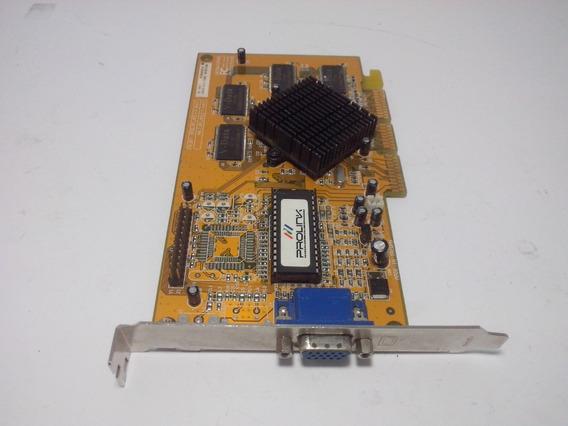 Placa Video 32mb Agp 8x (mvga Nvtnt2ma)