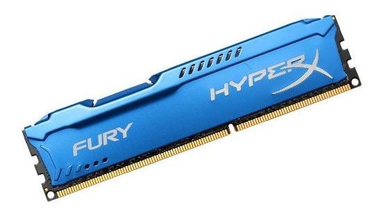 Memória Hyperx Fury Azul 4gb 1866mhz Ddr3