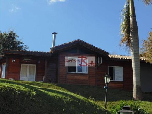 A Venda Casa Com 3 Quartos E Edicula C/2 Quartos Hópspedes No Sitio Moenda - Ch0290