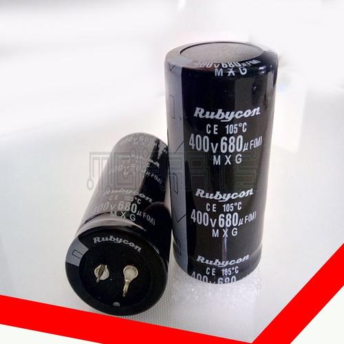 Condensador Capacitor Filtro Rubycon 680uf 400v Cap1