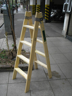 Escalera Familiar Doble 4 Escalones