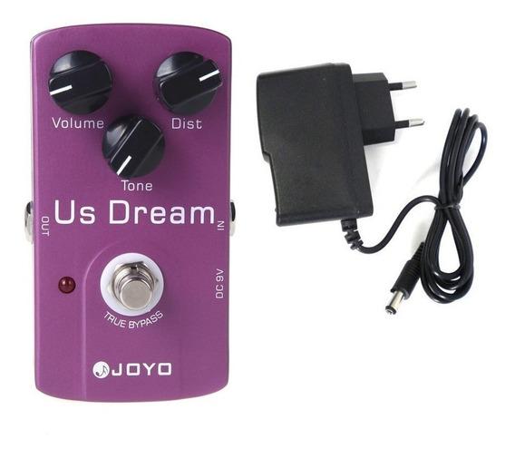 Pedal Guitarra (com Fonte) Joyo Jf 34 Us Dream Jf34