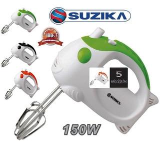Batidora Manual Electrica 150w 5 Velocidades 4 Aspas 220v $