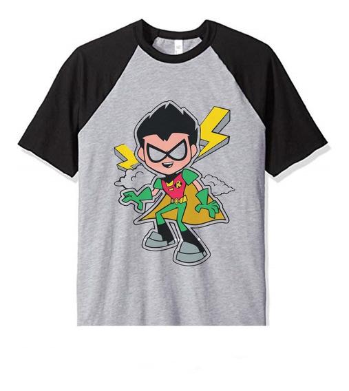 Remera Jovenes Titanes Teen Titans Robin