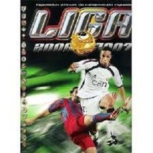 Álbum Liga Espanhola 2006/2007 Com 238 Figurinhas Coladas.
