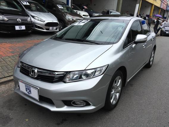 Honda Civic 1.8 Exs Automático Teto Solar - 2012