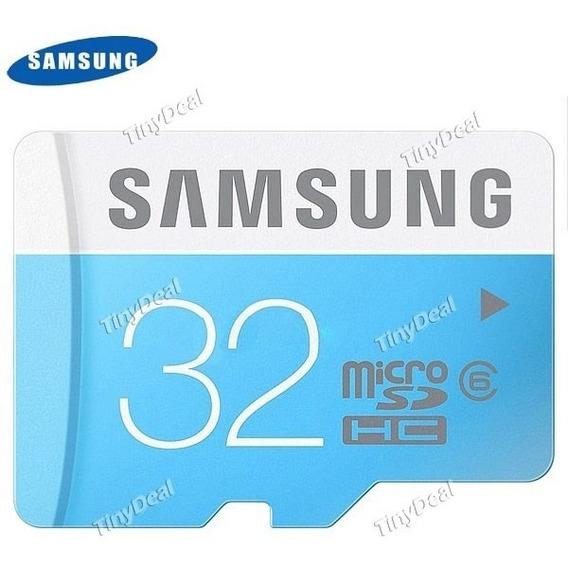 Cartão De Memória 32gb Samsung Class 6 32gb Micro Sdhc