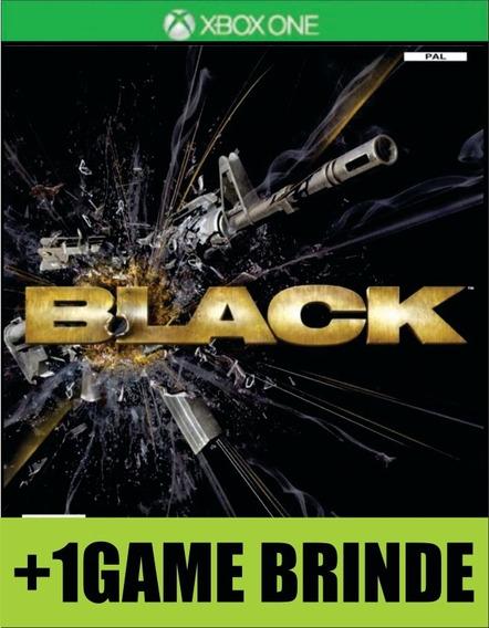 Black Xbox One Mídia