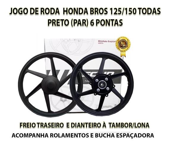 Roda Bros 125/150 Scud Freio Tras Lona Diant Lona + Brinde