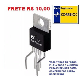 Ci Top256yn Top256 Top-256 To220 Top-256yn Frete R$ 10,00