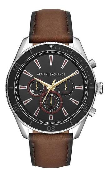 Relógio Masculino Armani Exchange Robustos Prata - Original