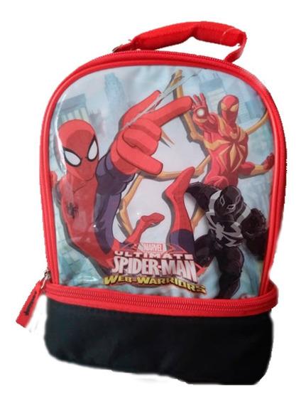 Lonchera Spiderman Para Niños Importada Vianda
