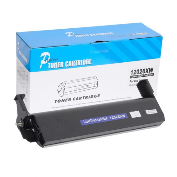 Laser Drum Cartridge Lexmark 120/120n/fotocondutor Compative