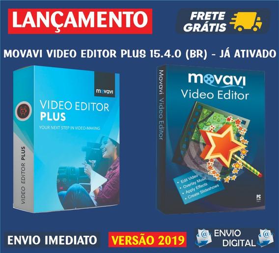 Movavi Vídeo Editor Plus 15 / Editor De Vídeo. Envio Digital