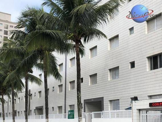 Kitnet Com 1 Dormitório À Venda, 30 M² Por R$ 96.000 - Vila Mirim - Praia Grande/sp - Kn0125