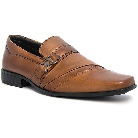 Sapato Social Masculino Pé De Ferro Em Couro Legítimo 3090