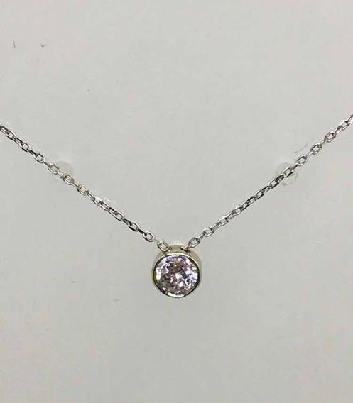 Glitter Joias Colar Ponto De Luz Ouro E 25 Pontos Diamantes