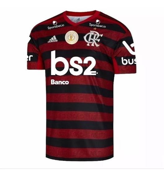 Camisa Flamengo Libertadores Original 2019 Pronta Entrega