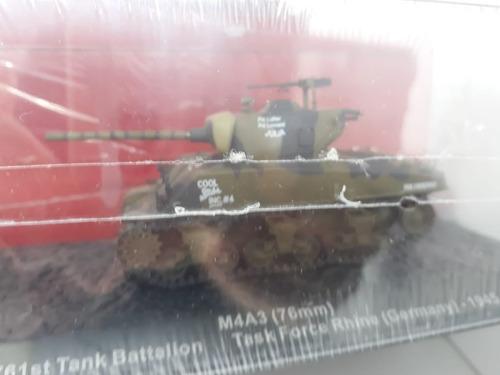 Coleção Miniatura Carros De Combate M4a3 Sherman Usa 1945 Ebancas
