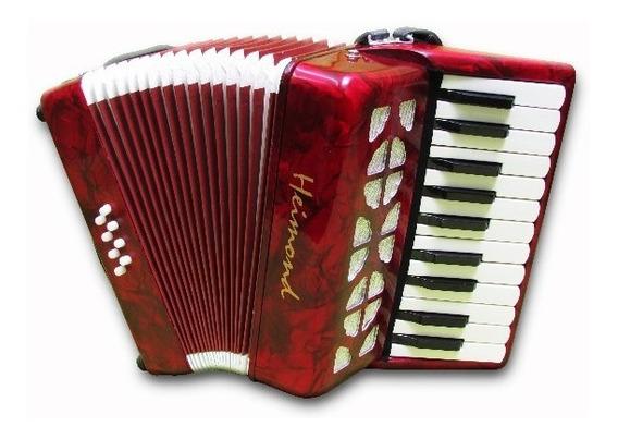 Acordeon A Piano Heimond St-2000 - 8 Bajos, 22 Teclas Chicas