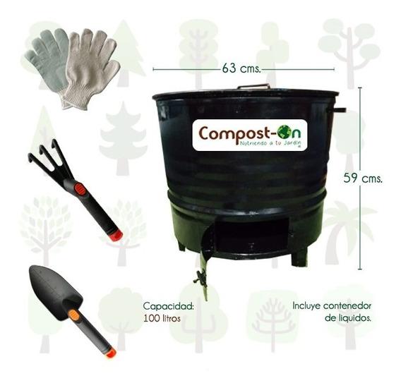 Kit Bote Compostero Compost-on