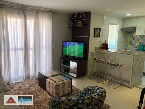 Imagem 1 de 19 de Apartamento Com 2 Dormitórios À Venda, 70 M² Por R$ 590.000 - Tatuapé - São Paulo/sp - Ap5757